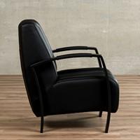 Leren fauteuil Glamour-32