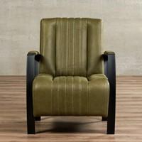 Leren fauteuil Glamour-34