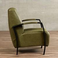 Leren fauteuil Glamour-35