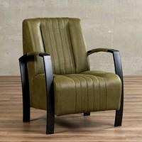 Leren fauteuil Glamour-37