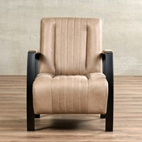 Leren fauteuil Glamour-1