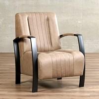 Leren fauteuil Glamour-4