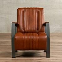 Leren fauteuil Glamour-5
