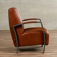 Leren fauteuil Glamour-6