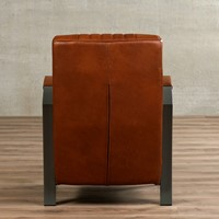 Leren fauteuil Glamour-7