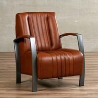 Leren fauteuil Glamour-8