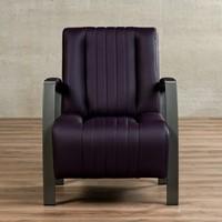 Leren fauteuil Glamour-9