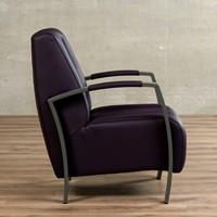 Leren fauteuil Glamour-10
