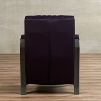 Leren fauteuil Glamour-11