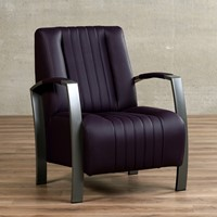 Leren fauteuil Glamour-12