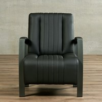 Leren fauteuil Glamour-14