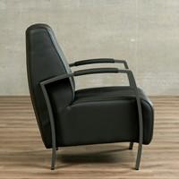 Leren fauteuil Glamour-15