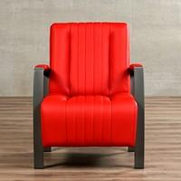 Leren fauteuil Glamour-18