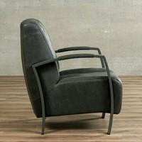 Leren fauteuil Glamour-23