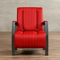 Leren fauteuil Glamour-26