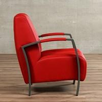 Leren fauteuil Glamour-27