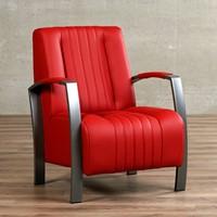 Leren fauteuil Glamour-29