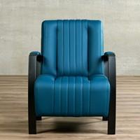Leren fauteuil Glamour-42