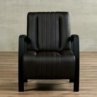 Leren fauteuil Glamour-38