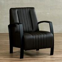 Leren fauteuil Glamour-41