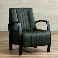 Leren fauteuil Glamour-47