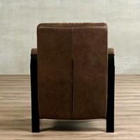 Leren fauteuil Glamour-49