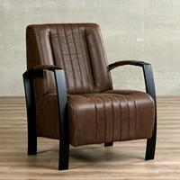 Leren fauteuil Glamour-50