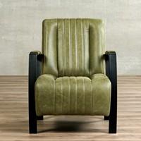 Leren fauteuil Glamour-54