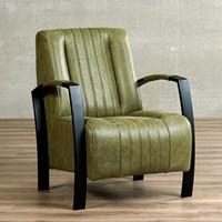 Leren fauteuil Glamour-56