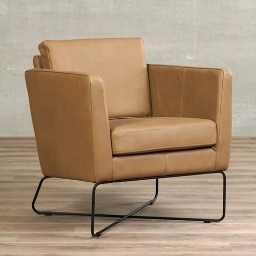 Leren fauteuil Crossover - Rancho Leer Clay