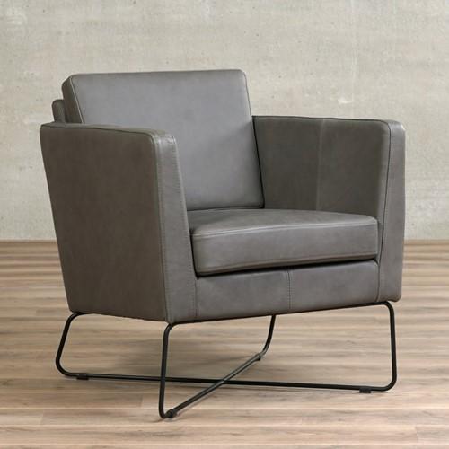 Leren fauteuil Crossover - Rancho Leer Steel