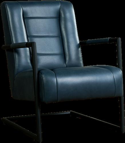 Leren fauteuil Dream met sledepoot
