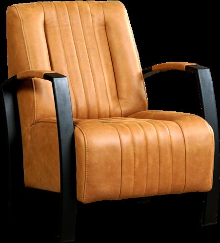 Witte Leren Relaxstoel.Leren Fauteuil Glamour Shopx