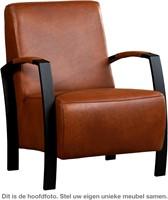 Leren fauteuil Glory