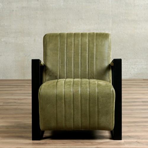 Leren fauteuil Jolly-2