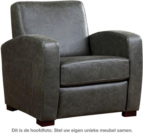 Leren fauteuil Kindly