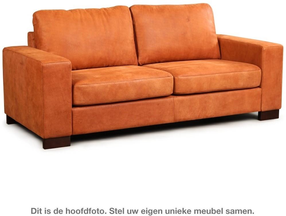 Leren Bank Oranje.Leren Bank Enjoy 2 5 Zitsbank 204x90cm Shopx