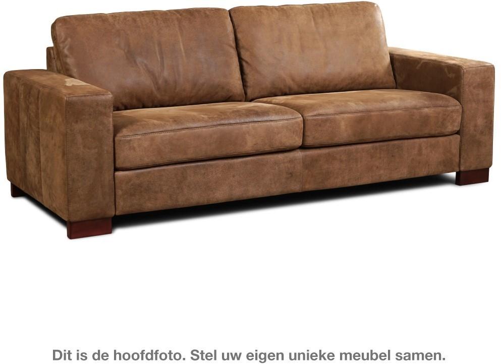 Groot Leren Bankstel.Leren Bank Enjoy 3 Zitsbank 224x90cm Shopx