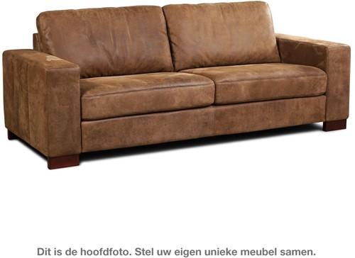 Leren bank Enjoy, 3-zitsbank - (224x90cm)