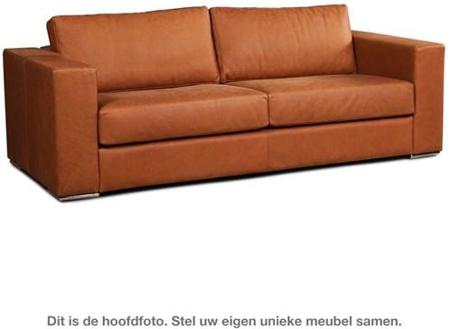 Leren bank Flow, 3-zitsbank - (224x100cm)