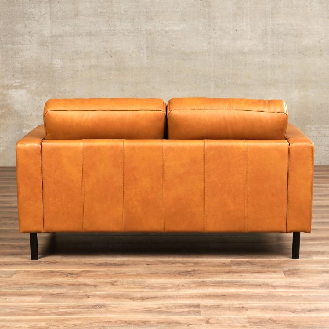 Leren Bank Chaise Longue.Leren Bank Match 2 Zitsbank 164x90cm Shopx