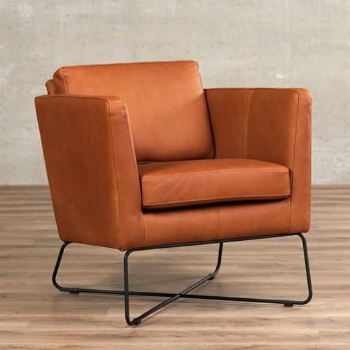 Leren fauteuil Crossover - Rancho Leer Cognac