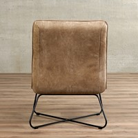 Leren fauteuil Less - Kenia Leer Taupe-3