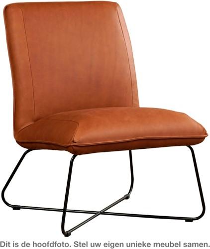 Leren fauteuil Less