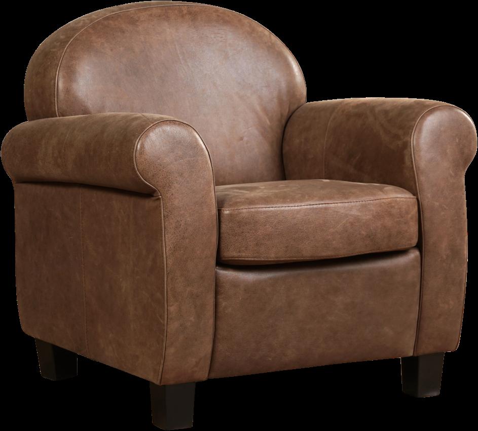 17cf594717d Leren fauteuil Roommate ShopX