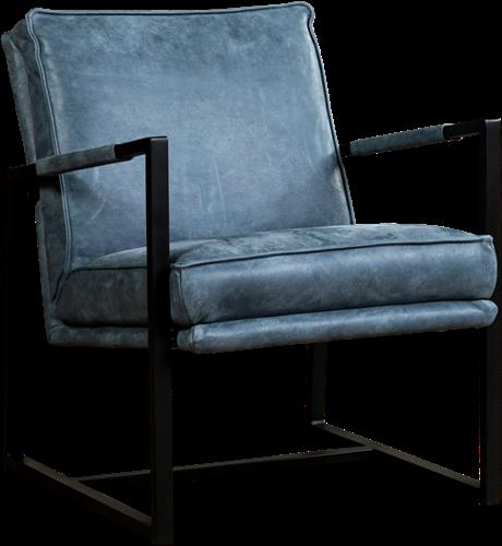 Leren fauteuil Secret