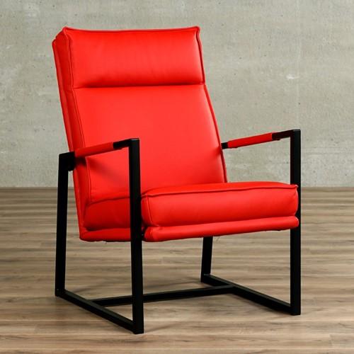 Leren fauteuil Square - Toledo Leer Ferrari